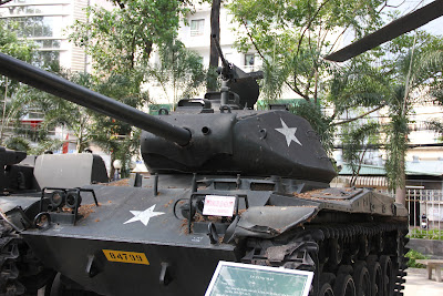 Tanque en el museo de la Guerra de Vietnam