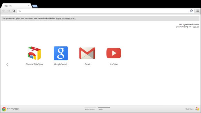 Как сделать иконки в гугл хром
