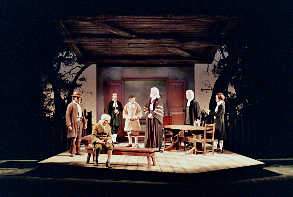 the concept of the search for justice in the crucible a play by arthur miller The crucible is arthur miller's dramatization of the salem witch trials of 1692/93  set in salem, massachusetts, the play enacts the hysteria and irrational hunt,.