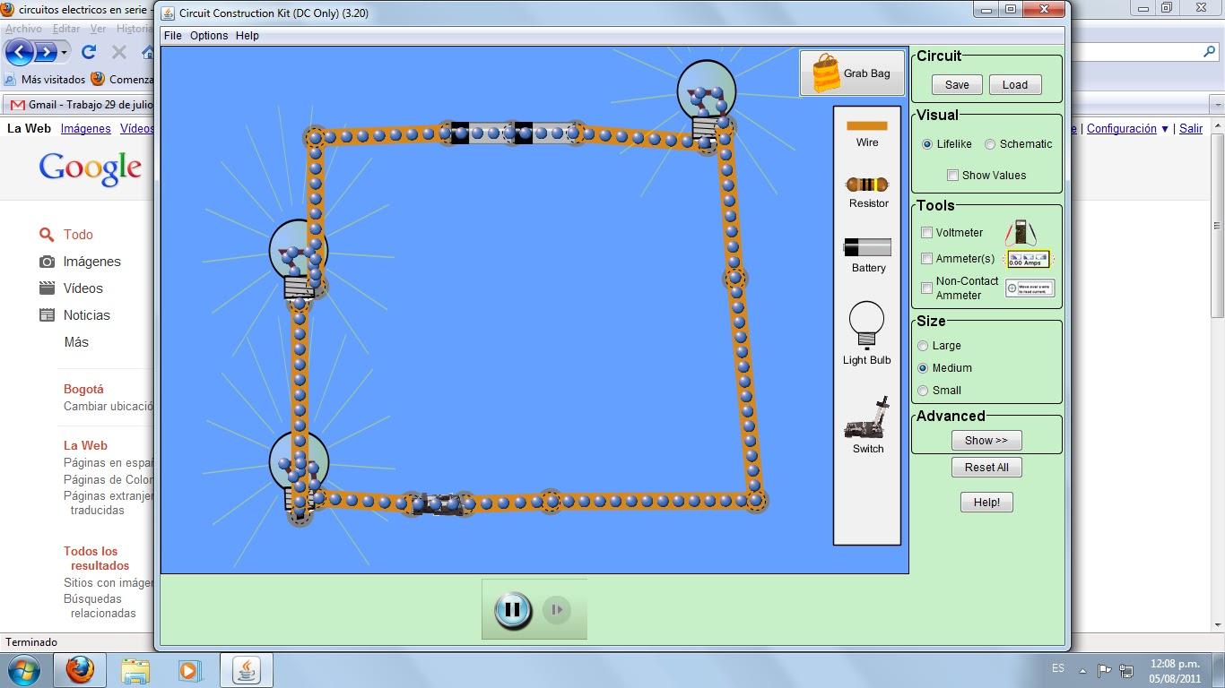 Circuito Hidraulico Mixto : Tecnologia e informatica 801: construccion de circuitos