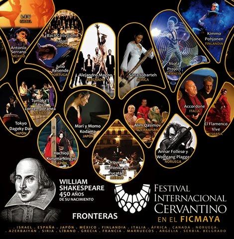 Eventos del Cervantino en FIC Maya 2014