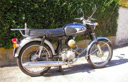 gambar motor Honda lawas