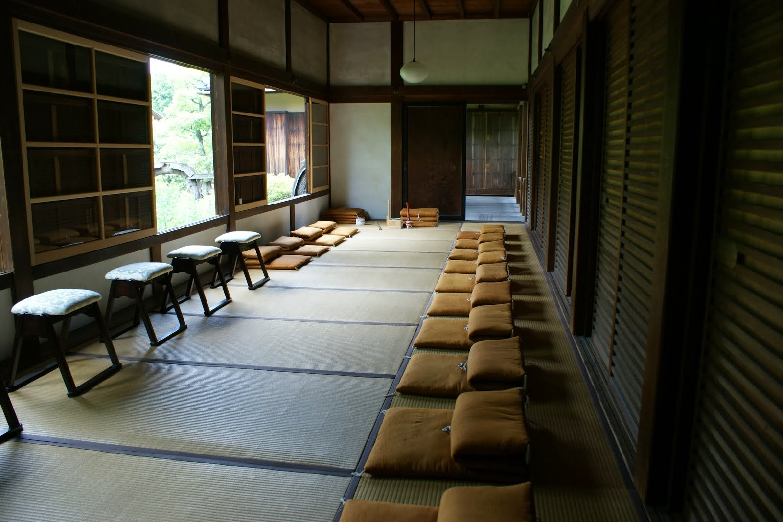 Zen Meditation Room Shunkoin Temple Today