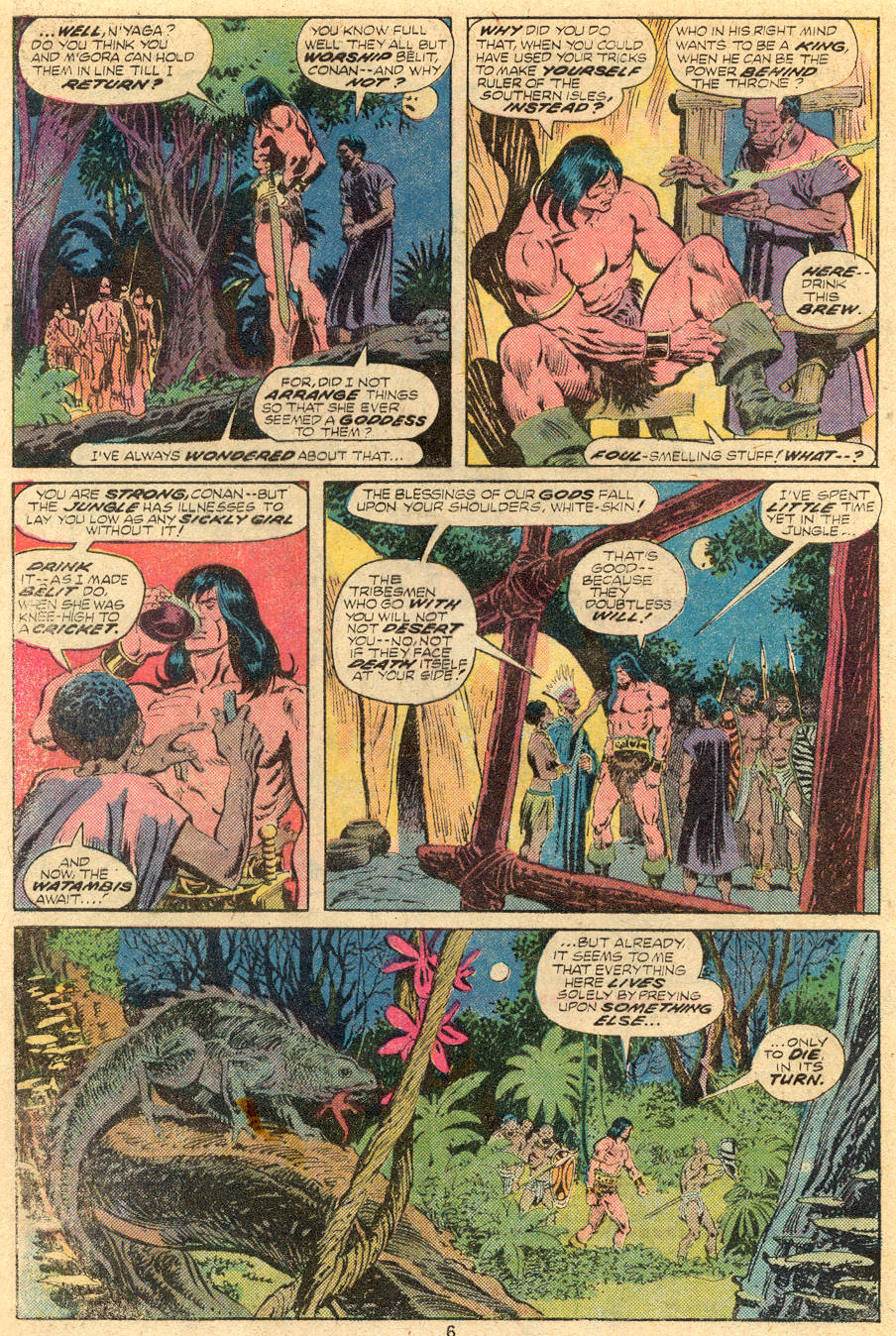 Conan the Barbarian (1970) Issue #61 #73 - English 5
