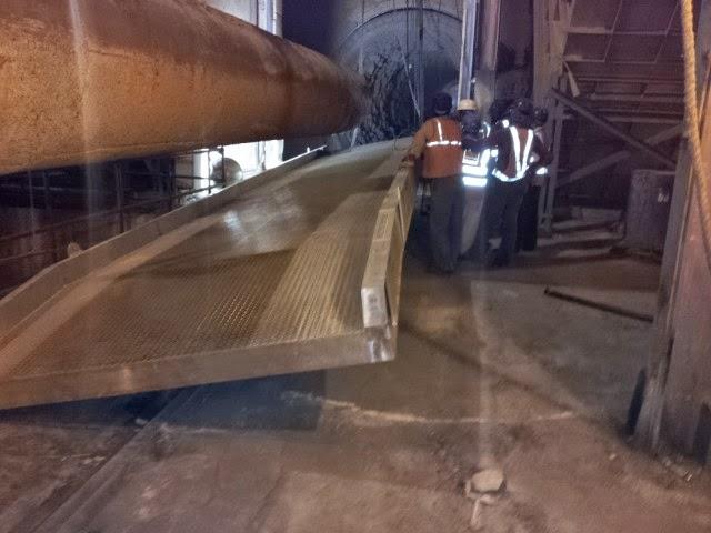 Kiln Access Ramp