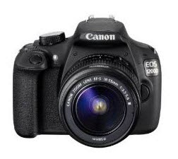 Buy Canon EOS 1200D Camera at Price Drop Rs.  22490 with 18-55mm and 55-250mm IS Lens & 8GB card & Bag