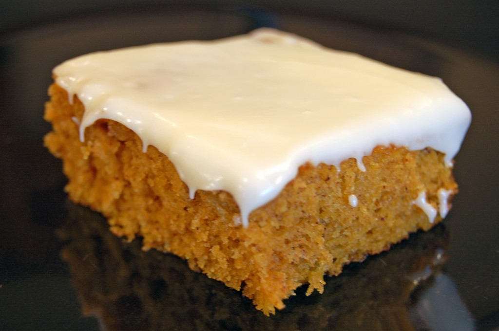 Pumpkin Sheet Cake Recipe With Cream Cheese Frosting