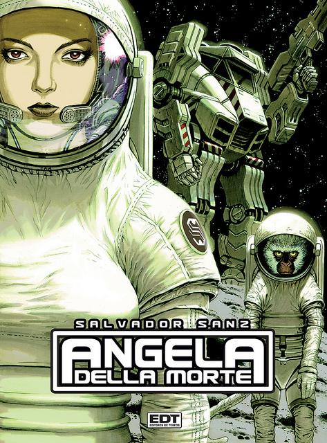 COMIC: Angela Della Morte, de Salvador Sanz.