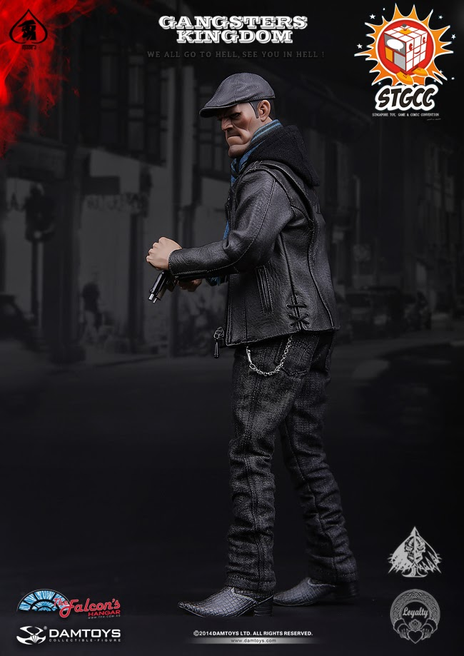 DAMTOYS Gangsters Kingdom Spade J EXCLUSIVE Special Colour Edition STGCC GK001EX