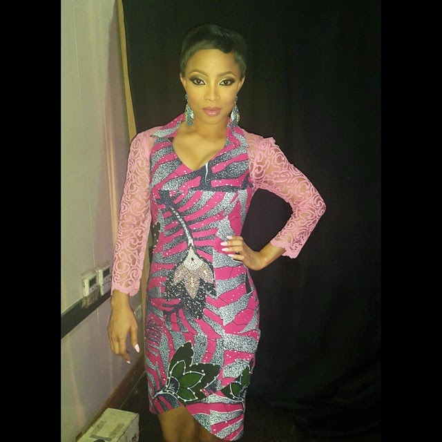 Toke Makinwa at the tw Magazine's 7th Anniversary