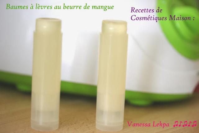 tube de baume à lèvres vide transparent pour cosmétique maison recette de baume à lèvres labelo bio beurre de mangue de karité et capuaçu