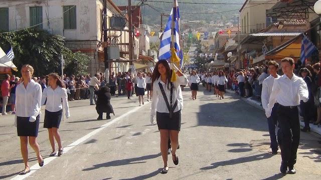 Η ιστορική Κυπαρισσία τίμησε το ΟΧΙ με παρέλαση και εθνική υπερηφάνεια- VIDEO