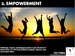 Our Values (3) Empowerment