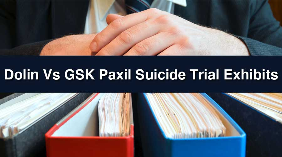 Dolin v. GSK Paxil Trial Exhibits