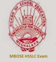 Check Online MBOSE HSSLC Result 2014 @ mbose.in