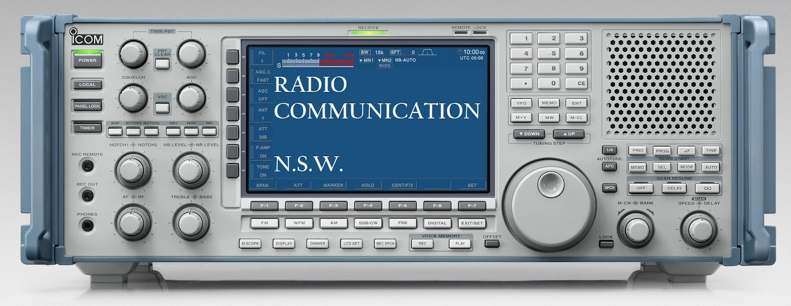 RADIO  COMMUNICATIONS  NSW - by Michael Bailey