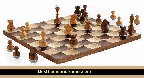 Decorating theme bedrooms maries manor gift ideas fun novelty gift shopping ideas gift - Wobble chess set by umbra ...
