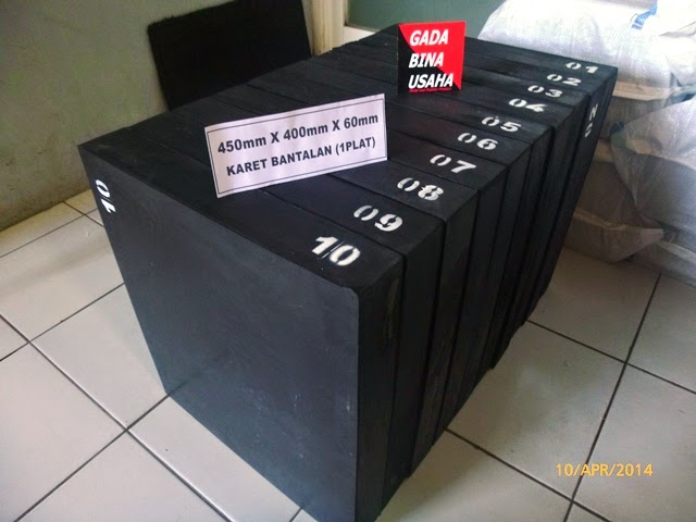 Elastomeric Bearing 450 X 400 X 60 mm