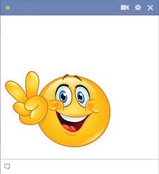 emoticon Facebook bersumpah