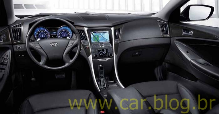 Novo Hyundai Sonata 2012 Recebe Facelift E Motor 2 0 Turbo