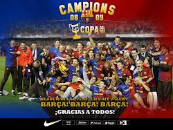 El Barça, rei de Copes