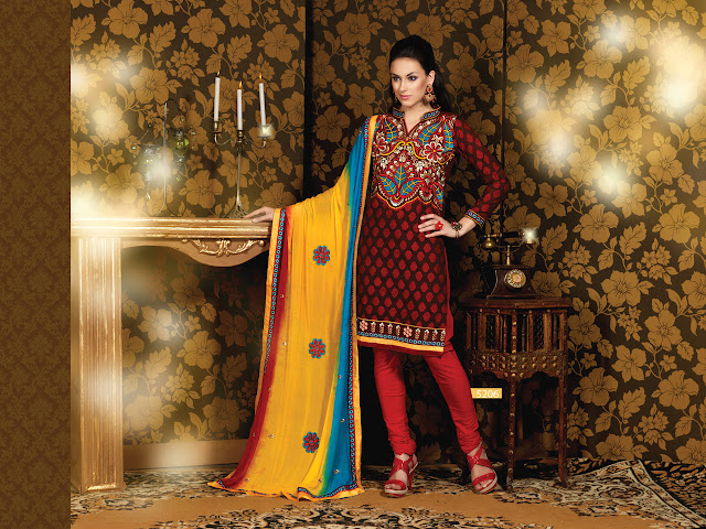 Designer Salwar Kameez Suits, Party Wear Churidar Salwar Kameez in Nepal