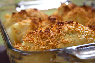 how to make cauliflower cheese with corn flour