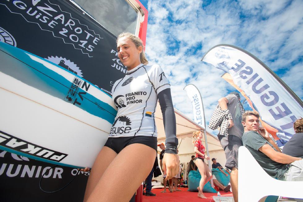 4 Nadia Erostarbe EUK Juliette Brice FRA Lanzarote Teguise 2015 Franito Pro Junior SL Gines Diaz