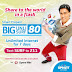 Smart Prepaid: Big Unli Surf 80 For 7 Days Unlimited Internet Access