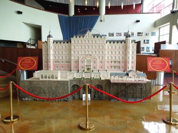 Grand Budapest Hotel original model exhibit ArcLight Hollywood