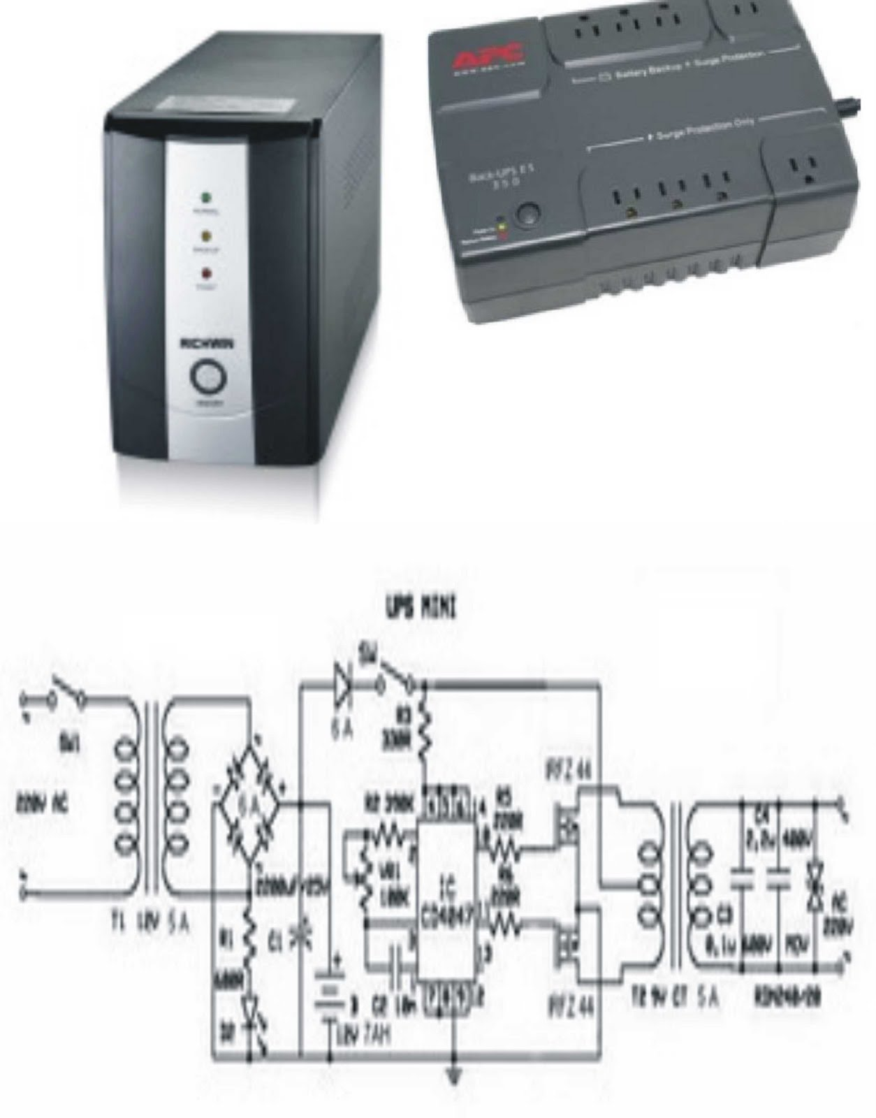 Electronics Main Function Of The Ups Battery Backup Circuit Uninterruptible Power Supply Abbreviated Is A Device That Typically Uses As An Alternative Ration To May Provide Uninterrupted