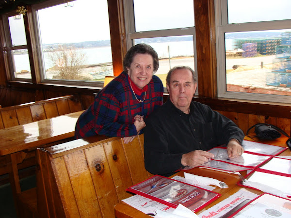 Nan and Bobby at Cook's