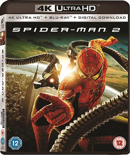 Spider-Man 2 4K (2004) 2160p 4K UltraHD HDR BluRay REMUX 54GB mkv Dual Audio Dolby TrueHD ATMOS 7.1 ch