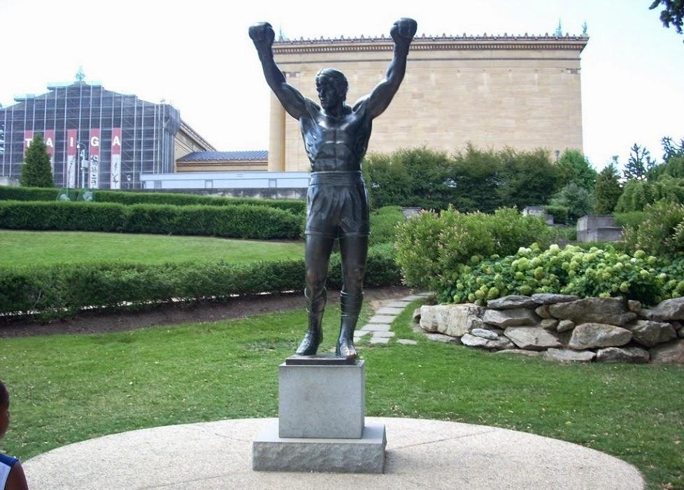 Escada de Rocky Balboa em Nova York   Philadelphia