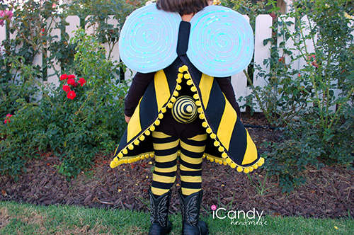 Diy bumble bee costume tutorial solutioingenieria Image collections