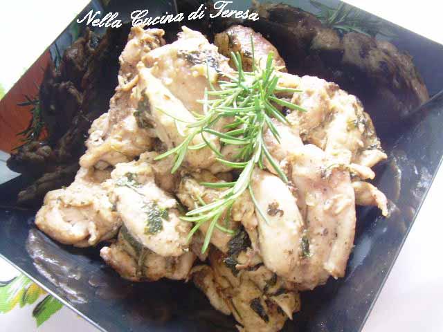 Nella cucina di teresa pollo al vino - Nella cucina di teresa ...