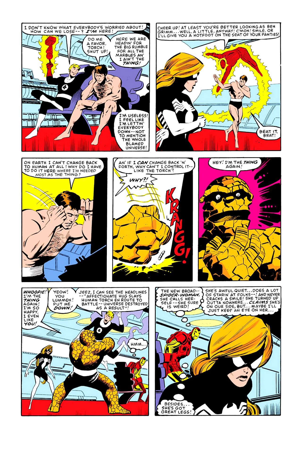 Captain America (1968) Issue #292j #217 - English 7