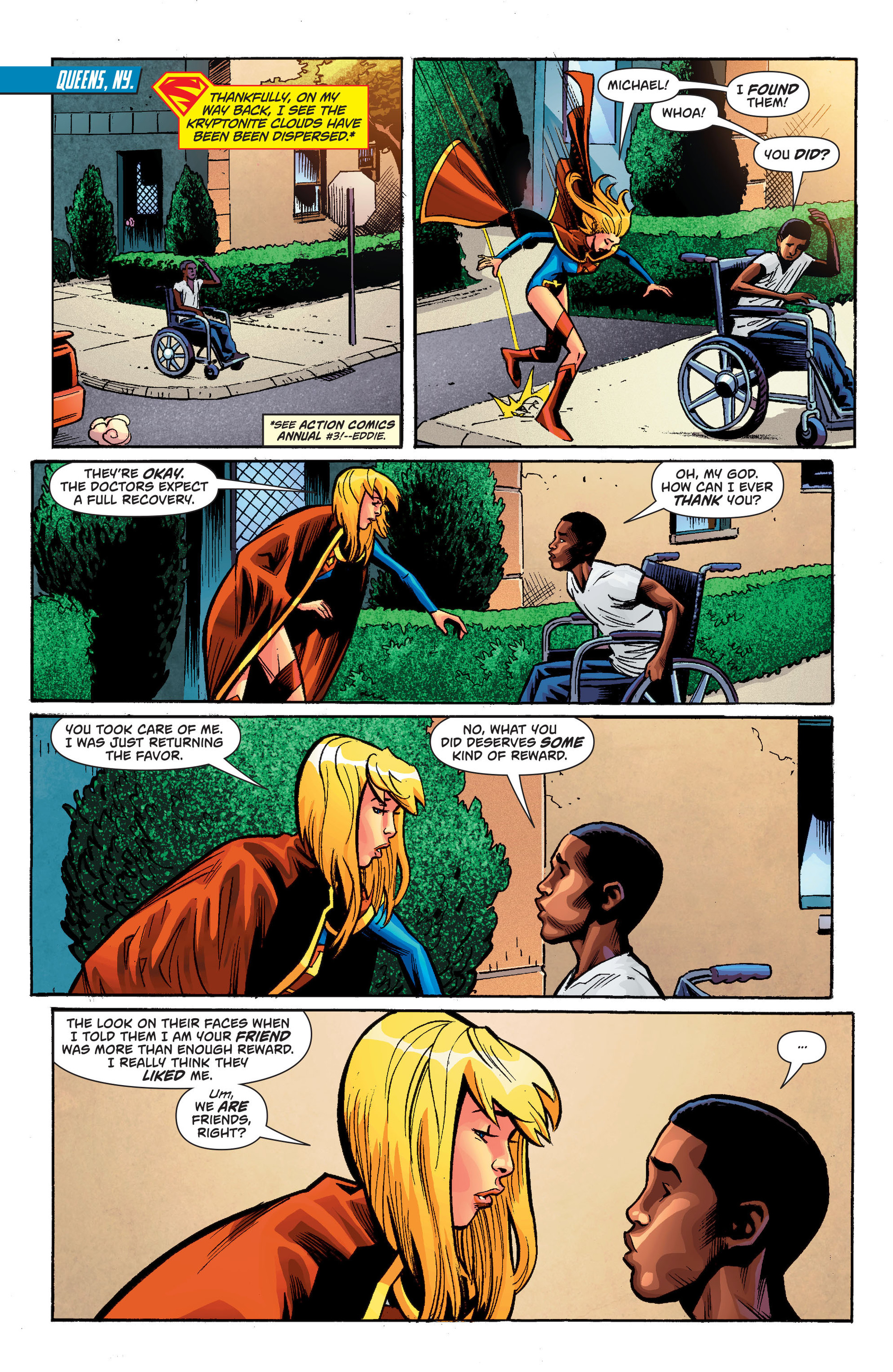 Supergirl (2011) Issue #34 #36 - English 17