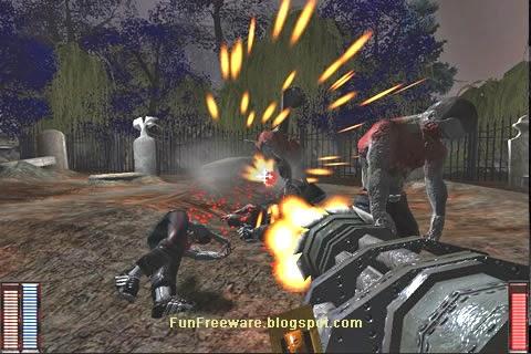 Freeware FPS - Cemetery Warrior
