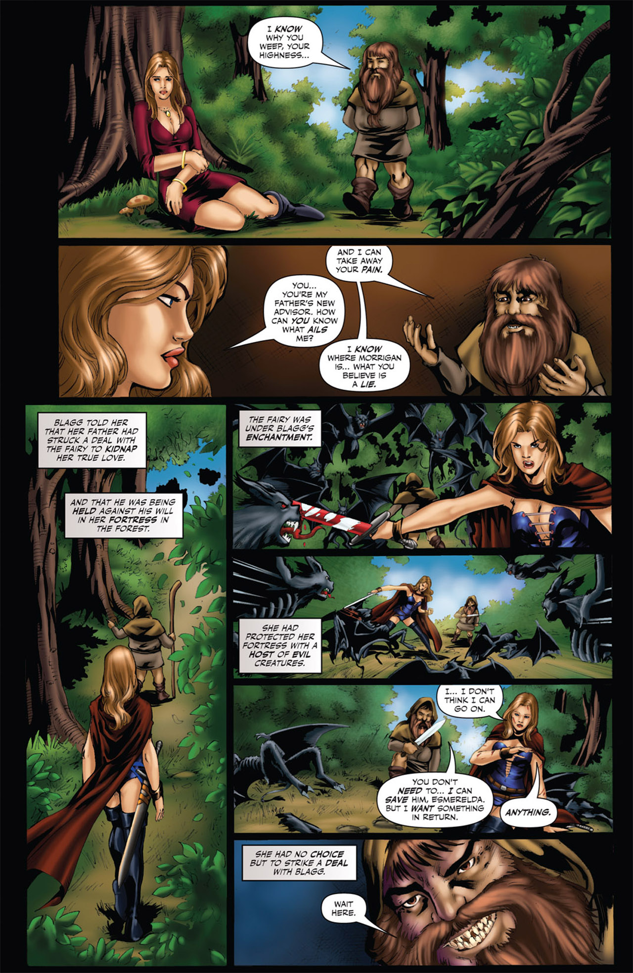Grimm Fairy Tales (2005) Issue #53 #56 - English 13