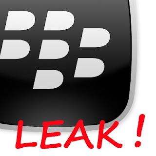 BlackBerry OS Leak