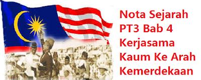 Kerjasama Kaum Ke Arah Kemerdekaan