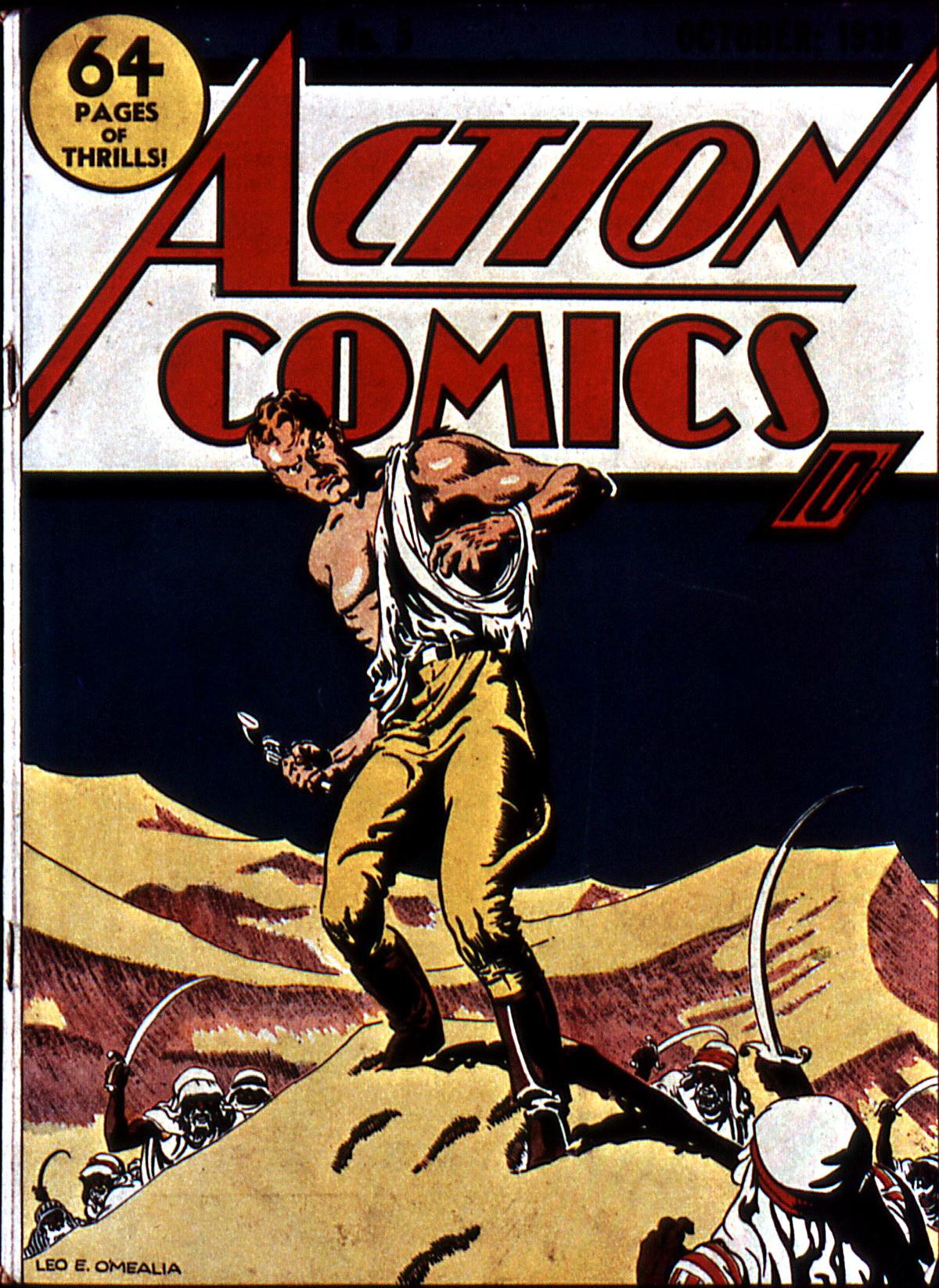Action Comics (1938) 5 Page 1