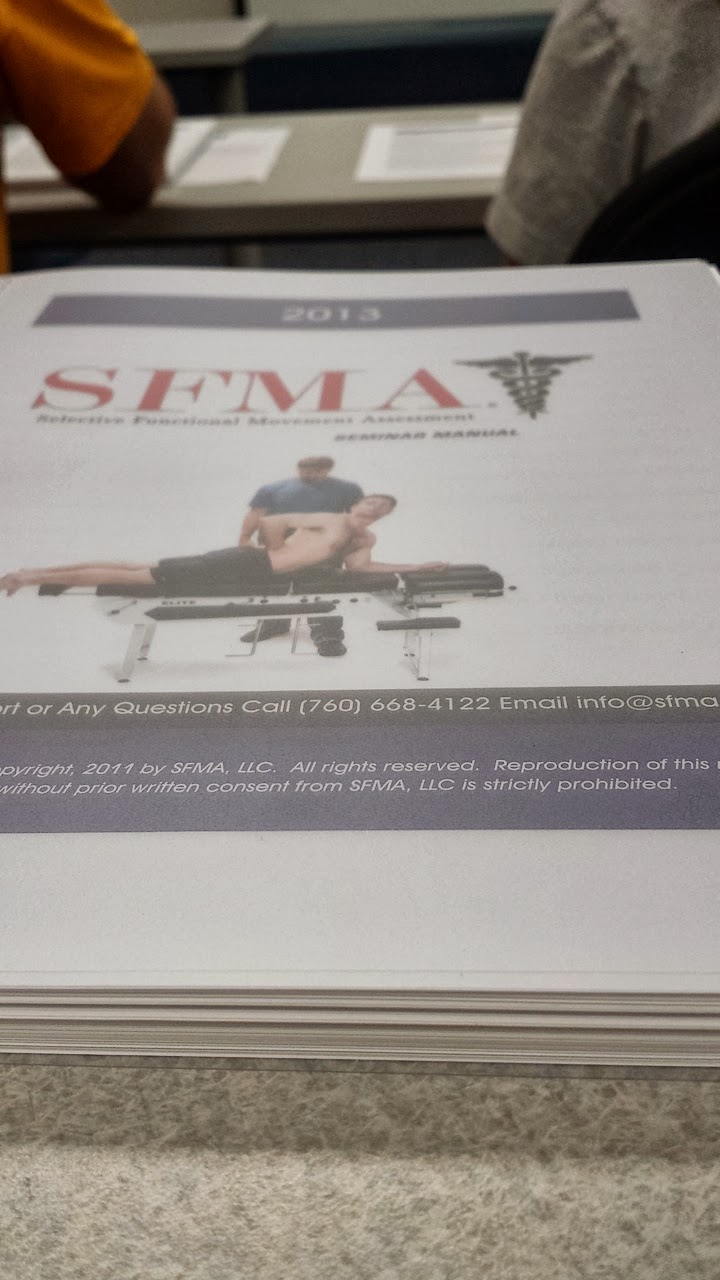 The sfma course review 9513 9613 eat run rehabilitate this is a pretty thick manual 1betcityfo Images