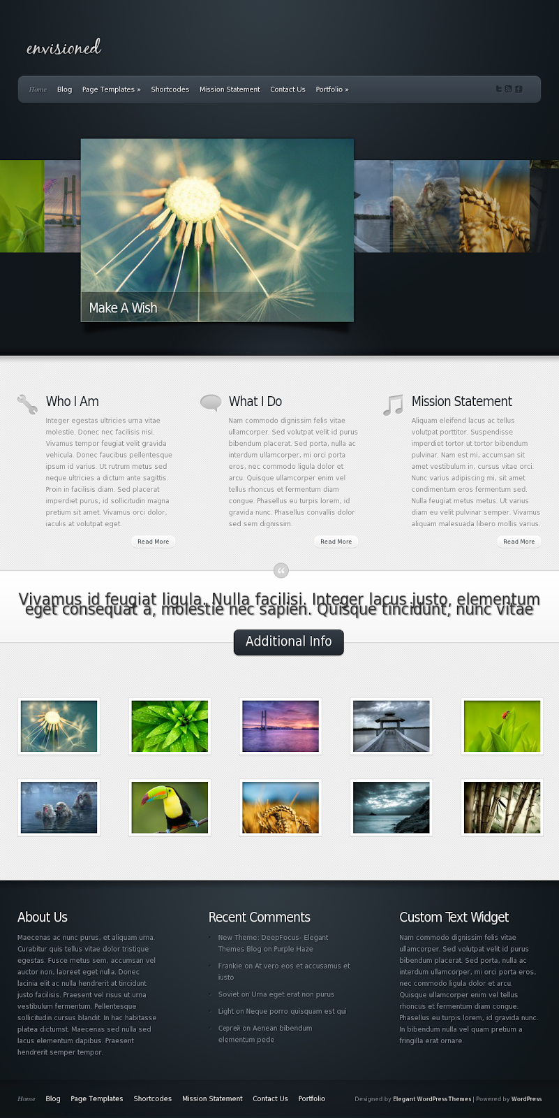Envisioned WordPress Theme