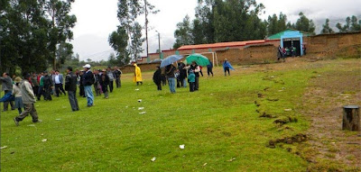 PERU: ESTADO DE EMERGENCIA EN 19 LOCALIDADES DEL DISTRITO DE PISCOBAMBA POR REPTACION DEL  SUELO