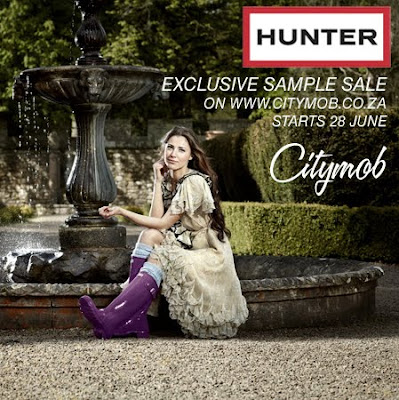 HUNTER Boot Sample Sale – Exclusive to Citymob