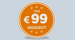 das Sunparks 99 Euro Angebot