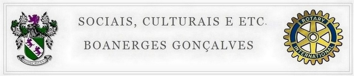 SOCIAIS CULTURAIS E ETC.  BOANERGES GONALVES