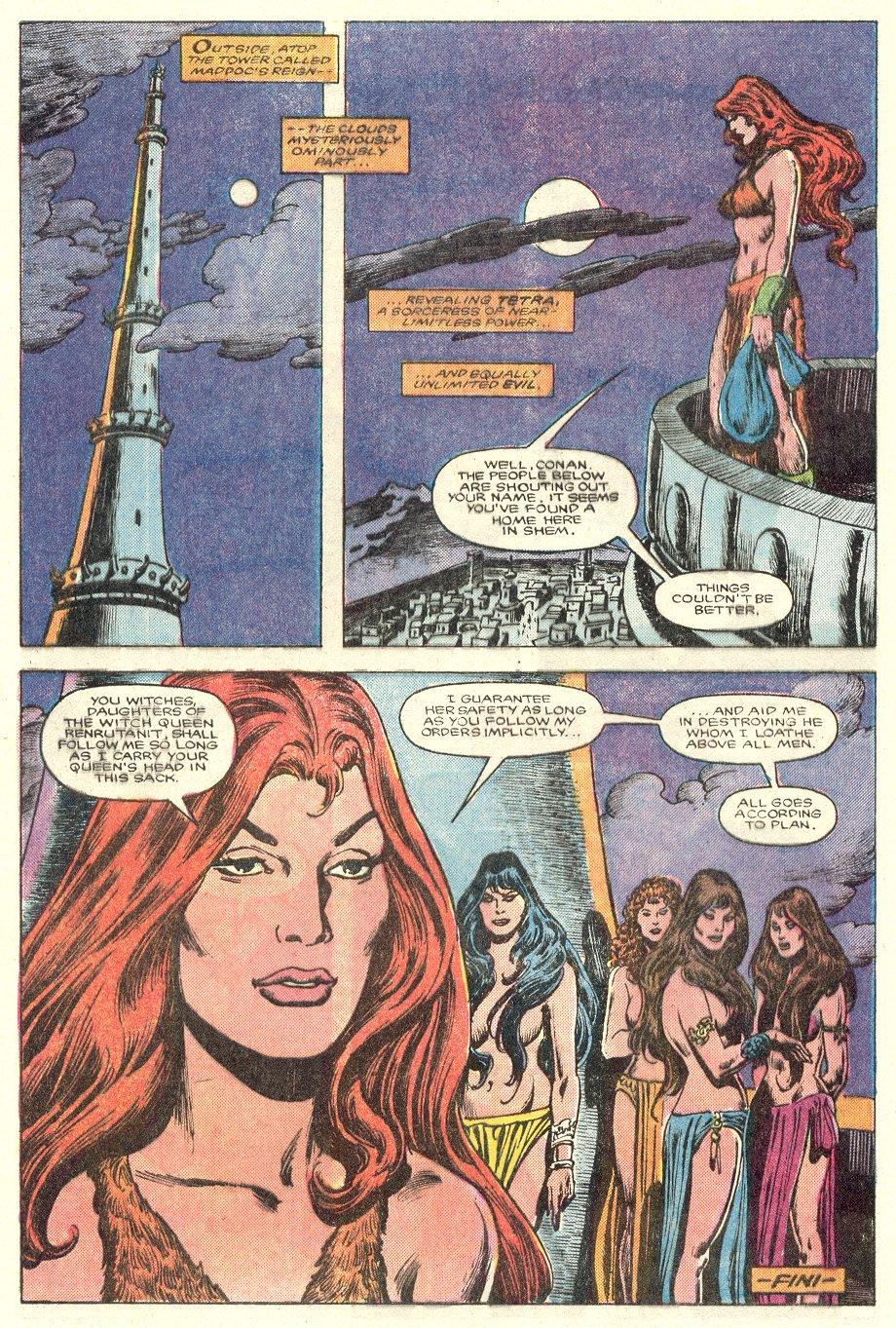 Conan the Barbarian (1970) Issue #181 #193 - English 24